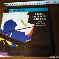 Fonógrafos y grabadoras de válvulas: ROCK 'N' ROLL GUITAR THE RHYTHM ROCKERS - REEL CINTA MAGNETOFON MAGNETOFONO MAGNETOFONICA SIN ABRIR. Lote 160260646