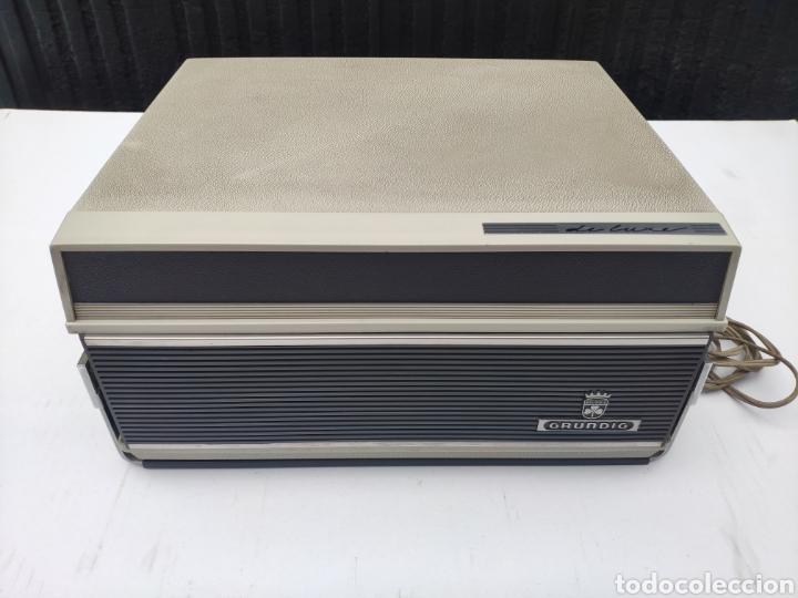 MAGNETOFONO AÑOS 60 GRUNDIG TK 23 L DELUXE (Radios, Gramófonos, Grabadoras y Otros - Fonógrafos y Grabadoras de Válvulas)