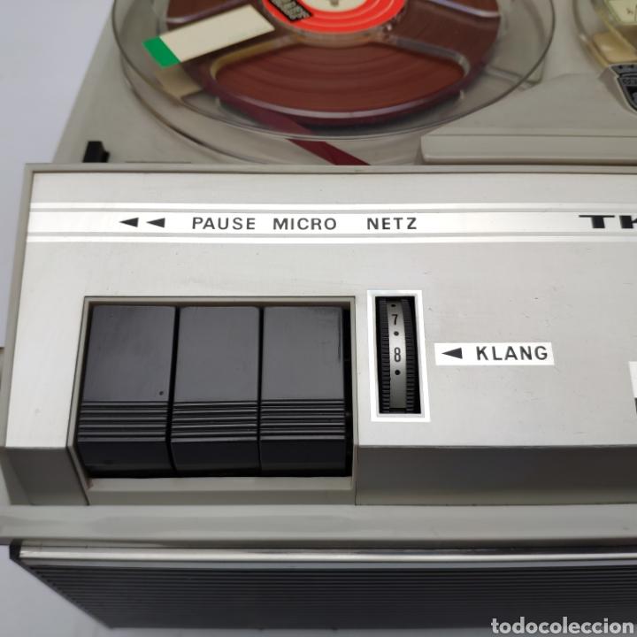 Fonógrafos y grabadoras de válvulas: Magnetofono años 60 grundig tk 23 l deluxe - Foto 18 - 160963444