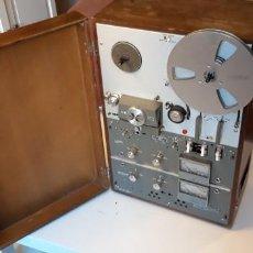 Fonógrafos y grabadoras de válvulas: MAGNETÓFONO AKAI M-9, TAPE-MACHINE OPEN-REEL VINTAGE. Lote 168992936