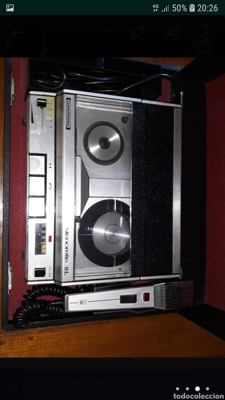 Fonógrafos y grabadoras de válvulas: Grabadora Antigua Grundig Steronette - Foto 2 - 169354213