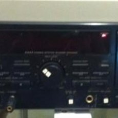 Fonógrafos y grabadoras de válvulas: DOBLE PLETINA CASSETTE JVC TD-W308. Lote 170988137