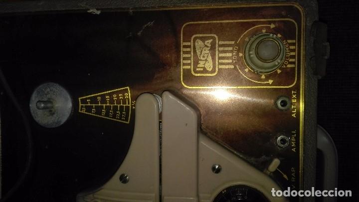 Fonógrafos y grabadoras de válvulas: Grabadora de válvulas ingra.años 50 - Foto 2 - 172598839
