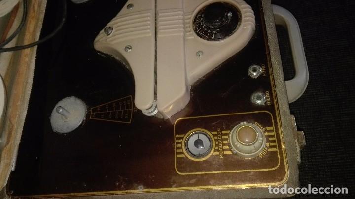 Fonógrafos y grabadoras de válvulas: Grabadora de válvulas ingra.años 50 - Foto 6 - 172598839