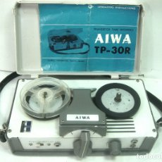 Fonógrafos y grabadoras de válvulas: VINTAGE TRANSISTOR TAPE RECORDER- AIWA TP-30R - MAGNETOFON MAGNETOFONO TP30R. Lote 172820620