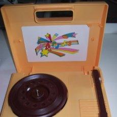 Phonographes et magnétophones à lampes: PHONOGRAPH GOLDTRONIC A PILAS FUNCIONANDO CURIOSO (PARA COLECCIONISTAS). Lote 173786979