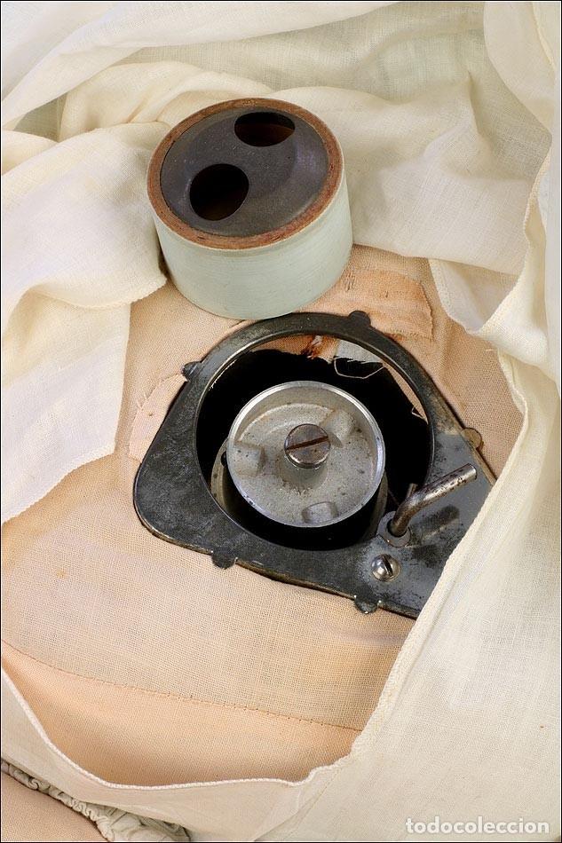 Fonógrafos y grabadoras de válvulas: Antigua Muñeca Fonógrafo Madame Hendren - Mae Starr. USA, años 30 - Foto 2 - 176573798