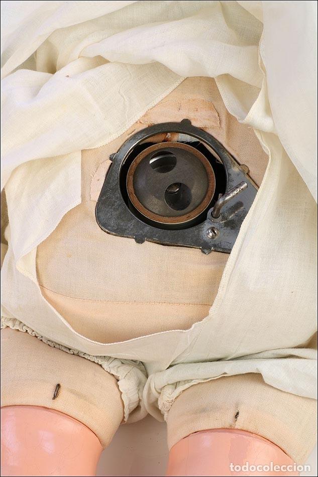 Fonógrafos y grabadoras de válvulas: Antigua Muñeca Fonógrafo Madame Hendren - Mae Starr. USA, años 30 - Foto 6 - 176573798