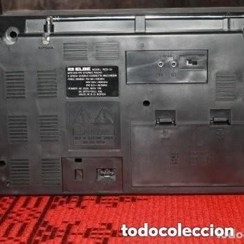 Fonógrafos y grabadoras de válvulas: RADIO DE LA MARCA ELBE MODELO: RCS-53 MW/SW/FM STEREO ( FUNCIONA) - Foto 2 - 181351040