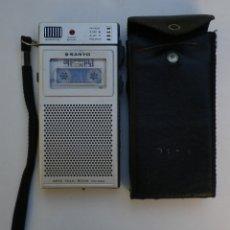 Fonografi e magnetofoni a valvole: PEQUEÑA GRABADORA DE MANO, MAGNETOFÓN CON MINICINTA SANYO TRC 3500 DE LOS AÑOS 70. Lote 182487693