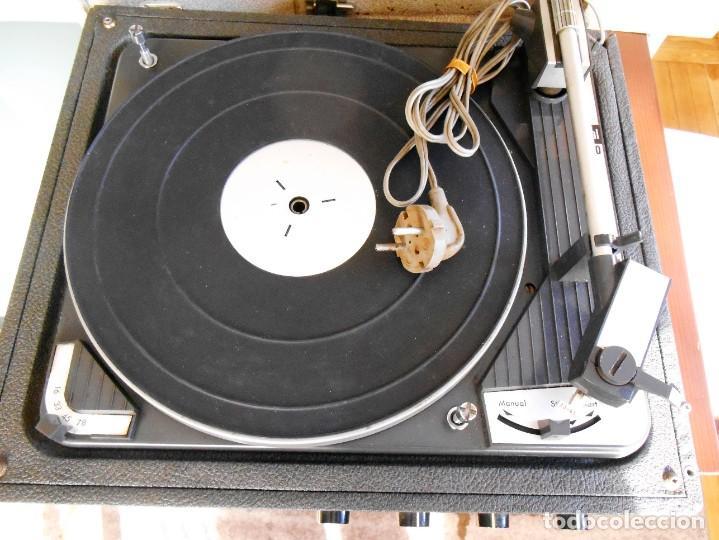 Fonógrafos y grabadoras de válvulas: Tocadiscos DUAL ,modelo 1010 v. - Foto 2 - 183770260