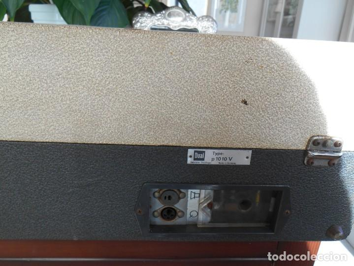 Fonógrafos y grabadoras de válvulas: Tocadiscos DUAL ,modelo 1010 v. - Foto 5 - 183770260