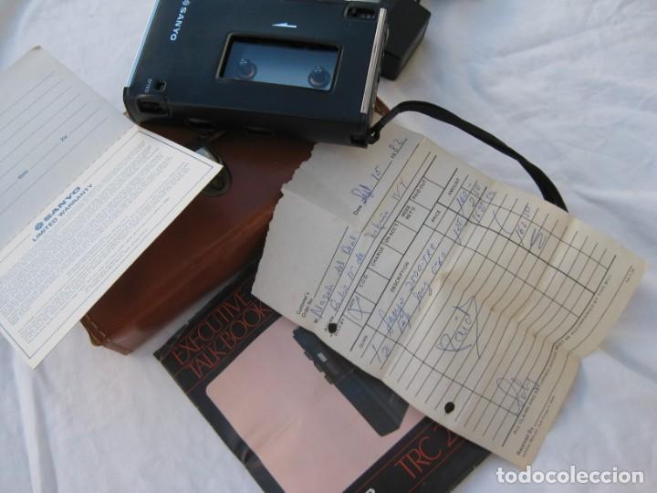 GRABADORA SANYO TRC 2500, CON FUNDA,CABLES, INSTRUCCIONES Y FACTURA ORIGINAL (Radios, Gramófonos, Grabadoras y Otros - Fonógrafos y Grabadoras de Válvulas)