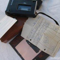 Fonógrafos y grabadoras de válvulas: GRABADORA SANYO TRC 2500, CON FUNDA,CABLES, INSTRUCCIONES Y FACTURA ORIGINAL. Lote 183934522