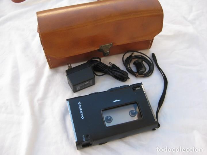Fonógrafos y grabadoras de válvulas: Grabadora Sanyo TRC 2500, con funda,cables, instrucciones y factura original - Foto 3 - 183934522