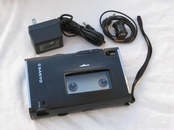 Fonógrafos y grabadoras de válvulas: Grabadora Sanyo TRC 2500, con funda,cables, instrucciones y factura original - Foto 4 - 183934522