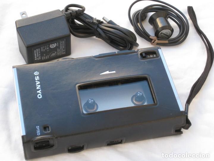 Fonógrafos y grabadoras de válvulas: Grabadora Sanyo TRC 2500, con funda,cables, instrucciones y factura original - Foto 7 - 183934522