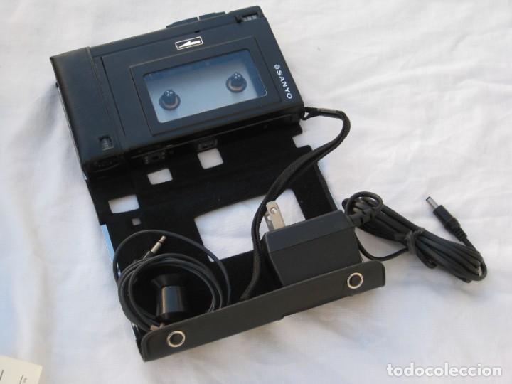 Fonógrafos y grabadoras de válvulas: Grabadora Sanyo TRC 2500, con funda,cables, instrucciones y factura original - Foto 8 - 183934522
