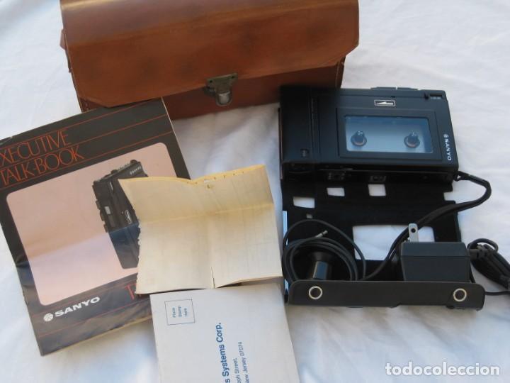Fonógrafos y grabadoras de válvulas: Grabadora Sanyo TRC 2500, con funda,cables, instrucciones y factura original - Foto 9 - 183934522
