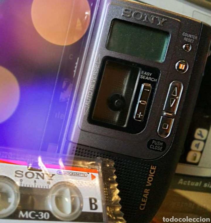 Fonógrafos y grabadoras de válvulas: SONY GRABADORA VINTAGE - Foto 4 - 186457136