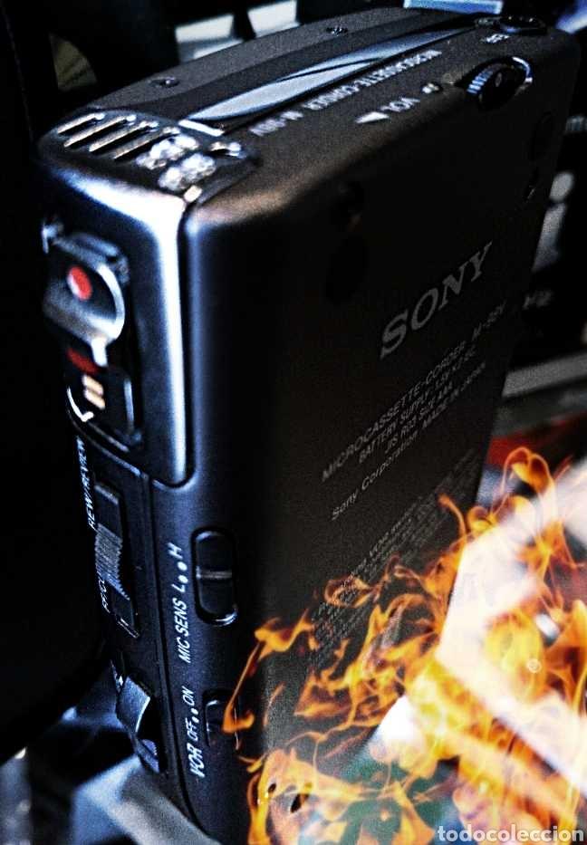Fonógrafos y grabadoras de válvulas: SONY GRABADORA VINTAGE - Foto 5 - 186457136