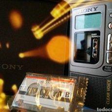 Fonógrafos y grabadoras de válvulas: SONY GRABADORA VINTAGE. Lote 186457136