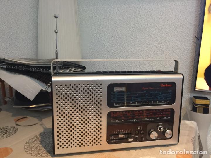 RADIO MULTIBANDAS INTER EUROMODUL 134 ESTA EN EXCELENTE ESTADO Y FUNCIONAMIENTO 40CMX25 CM ) (Radios, Gramófonos, Grabadoras y Otros - Fonógrafos y Grabadoras de Válvulas)