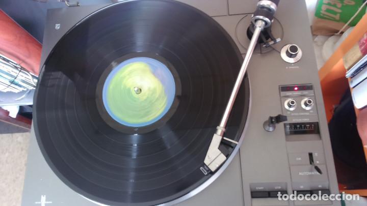 Fonógrafos y grabadoras de válvulas: Plato tocadiscos Phillips 777 direct control - Foto 2 - 191496536