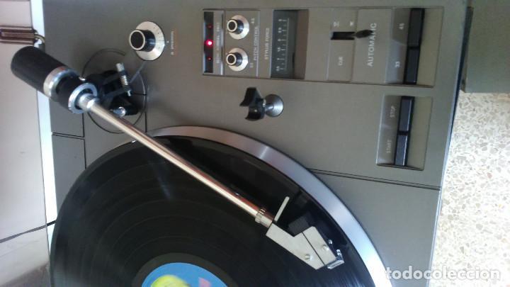 Fonógrafos y grabadoras de válvulas: Plato tocadiscos Phillips 777 direct control - Foto 4 - 191496536