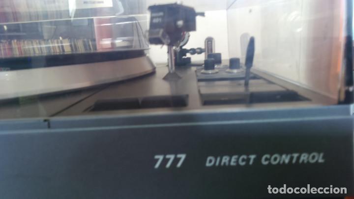 PLATO TOCADISCOS PHILLIPS 777 DIRECT CONTROL (Radios, Gramófonos, Grabadoras y Otros - Fonógrafos y Grabadoras de Válvulas)