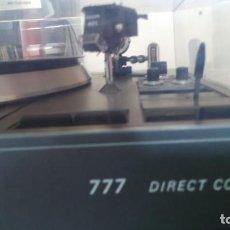 Fonógrafos y grabadoras de válvulas: PLATO TOCADISCOS PHILLIPS 777 DIRECT CONTROL. Lote 191496536