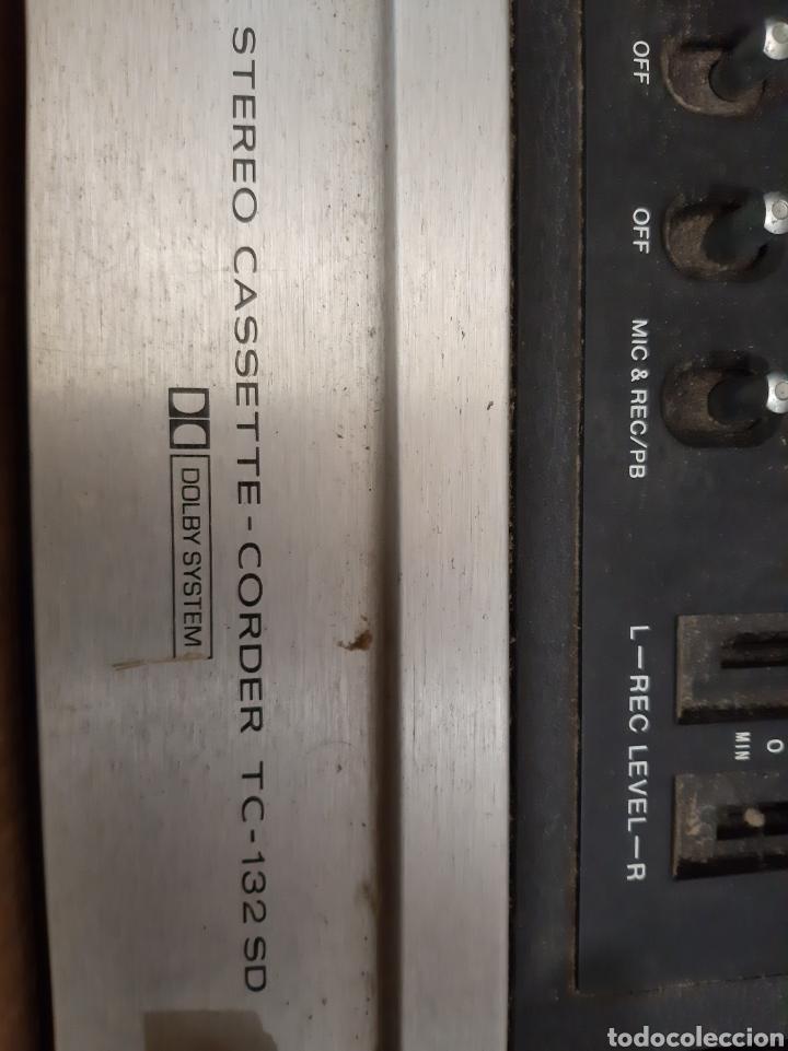 Fonógrafos y grabadoras de válvulas: Sony stereo cassette cordero Tc 132 sd - Foto 2 - 191498676