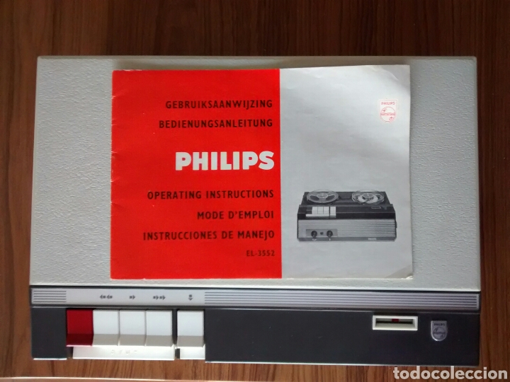 Fonógrafos y grabadoras de válvulas: MAGNETOFÓN PHILIPS EL-3552 - Foto 6 - 194184988