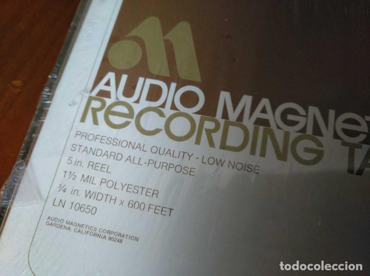 Fonógrafos y grabadoras de válvulas: CINTA MAGNETICA MAGNETOFON MAGNETOFONO AUDIO MAGNETICS 5 IN. REEL RECORDING TAPE EN CAJA SIN ABRIR - Foto 3 - 194594418