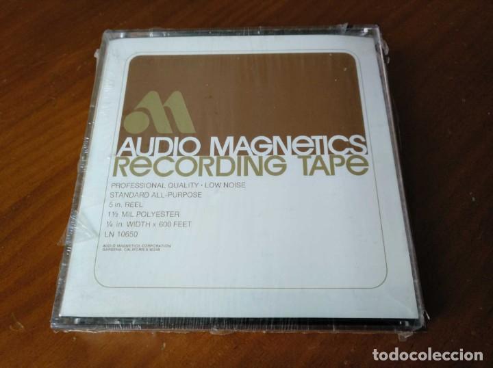 Fonógrafos y grabadoras de válvulas: CINTA MAGNETICA MAGNETOFON MAGNETOFONO AUDIO MAGNETICS 5 IN. REEL RECORDING TAPE EN CAJA SIN ABRIR - Foto 21 - 194594418