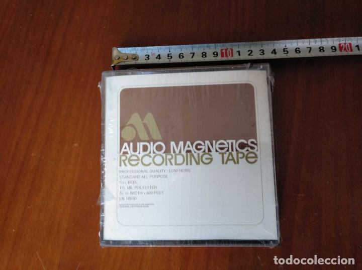 Fonógrafos y grabadoras de válvulas: CINTA MAGNETICA MAGNETOFON MAGNETOFONO AUDIO MAGNETICS 5 IN. REEL RECORDING TAPE EN CAJA SIN ABRIR - Foto 24 - 194594418