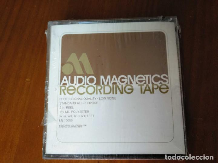 Fonógrafos y grabadoras de válvulas: CINTA MAGNETICA MAGNETOFON MAGNETOFONO AUDIO MAGNETICS 5 IN. REEL RECORDING TAPE EN CAJA SIN ABRIR - Foto 25 - 194594418