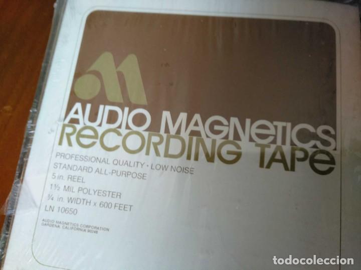 Fonógrafos y grabadoras de válvulas: CINTA MAGNETICA MAGNETOFON MAGNETOFONO AUDIO MAGNETICS 5 IN. REEL RECORDING TAPE EN CAJA SIN ABRIR - Foto 26 - 194594418
