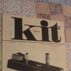 Fonógrafos e gravadores de válvulas: ANTIGUO FOLLETO KIT AFHA.FUENTE ALIMENTACION CON RECTIFICADOR.MD 2990.BARCELONA 1976. Lote 196529975