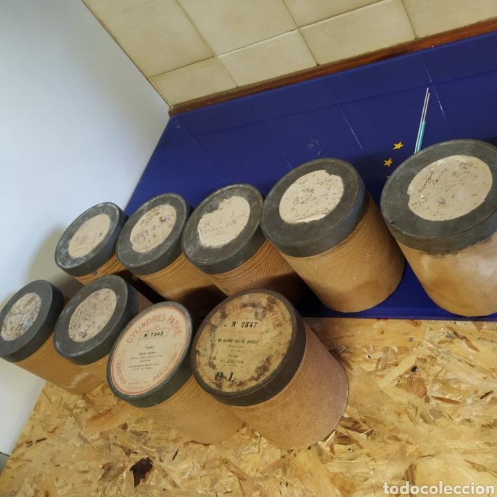 Fonógrafos y grabadoras de válvulas: Lote 9 cilindros de fonógrafo - Foto 9 - 198613183