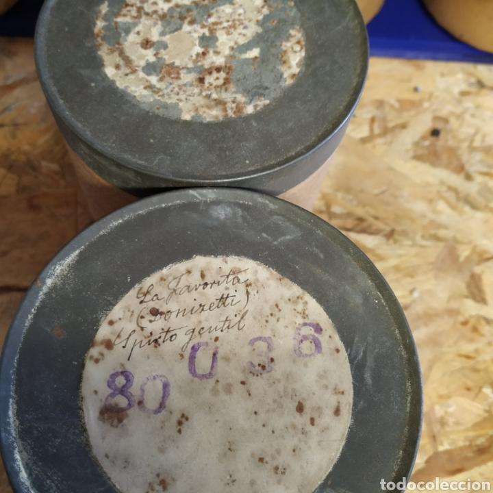 Fonógrafos y grabadoras de válvulas: Lote 9 cilindros de fonógrafo - Foto 11 - 198613183