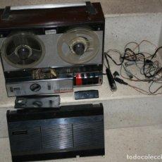 Fonógrafos e gravadores de válvulas: ANTIGUO MAGNETOFONO KOLSTER 431 FUNCIONANDO, CON BOBINA DE CINTA CON CANCIONES . Lote 199328493