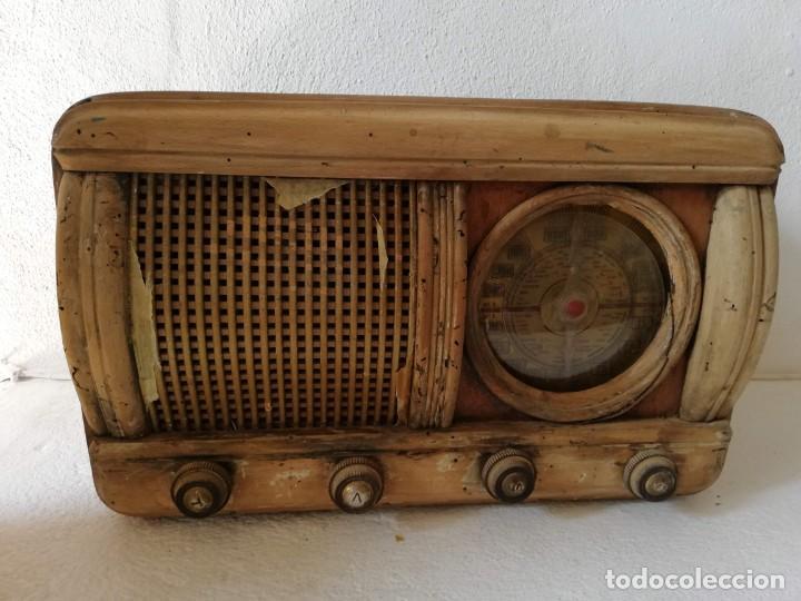 RADIO ANTIGUA (Radios, Gramófonos, Grabadoras y Otros - Fonógrafos y Grabadoras de Válvulas)