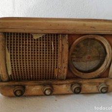 Fonógrafos y grabadoras de válvulas: RADIO ANTIGUA. Lote 203051661