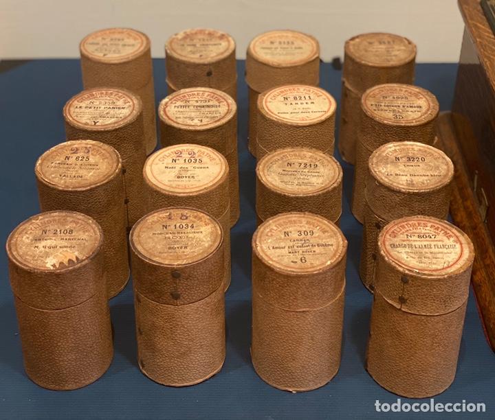 Fonógrafos y grabadoras de válvulas: Fonografo Edison primeros '900 + accesorios - Foto 10 - 204366555