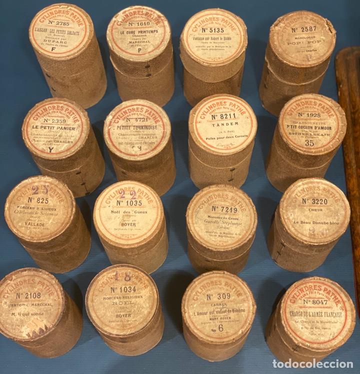 Fonógrafos y grabadoras de válvulas: Fonografo Edison primeros '900 + accesorios - Foto 11 - 204366555