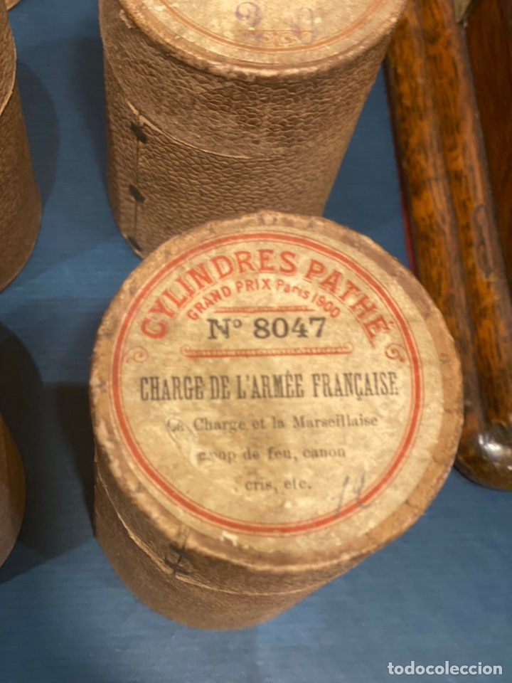Fonógrafos y grabadoras de válvulas: Fonografo Edison primeros '900 + accesorios - Foto 12 - 204366555