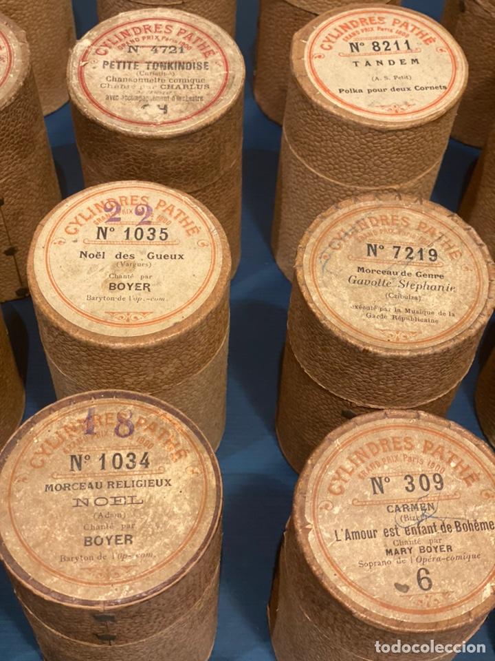 Fonógrafos y grabadoras de válvulas: Fonografo Edison primeros '900 + accesorios - Foto 13 - 204366555