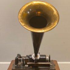 Fonógrafos y grabadoras de válvulas: FONOGRAFO EDISON PRIMEROS '900 + ACCESORIOS. Lote 204366555