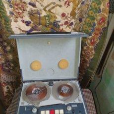 Fonógrafos y grabadoras de válvulas: MAGNETÓFONO DE BOBINAS ABIERTAS DE LA MARCA ESPAÑOLA ABET MODELO CARLIT AÑO 1960.. Lote 204411036